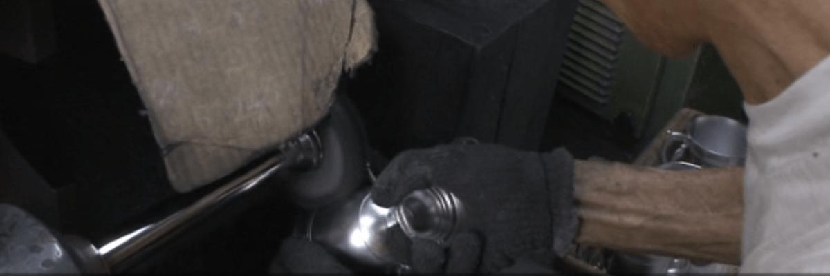 錫は軟らかくて鏡面仕上げ加工が難しい