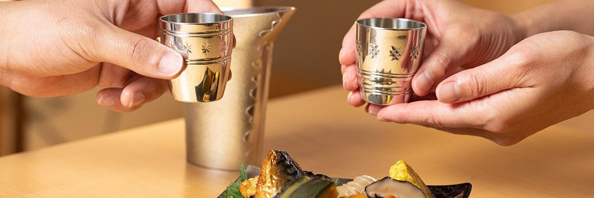 日本酒を五感で堪能したい