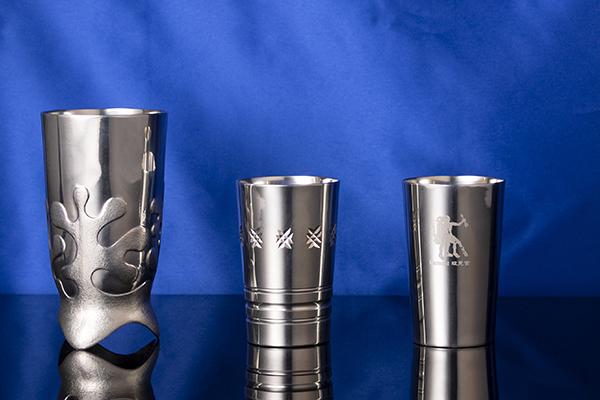 芸術性と安全性を兼ね備えるエテナの錫技術